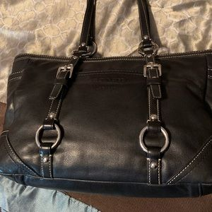 Coach purse with wristlet wallet
